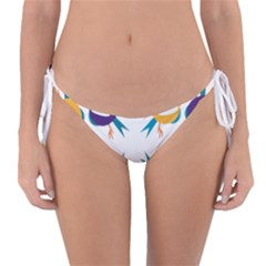 Pattern Circular Birds Reversible Bikini Bottom by BangZart