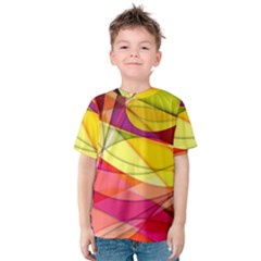 Abstract #367 Kids  Cotton Tee by RockettGraphics