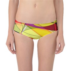 Abstract #367 Classic Bikini Bottoms by RockettGraphics