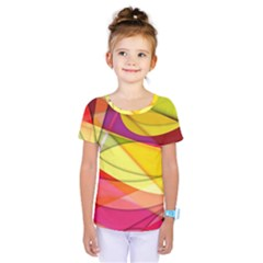 Abstract #367 Kids  One Piece Tee by RockettGraphics