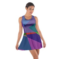 Abstract #415 Tipping Point Cotton Racerback Dress by RockettGraphics