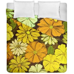 Abstract #417 Duvet Cover Double Side (california King Size) by RockettGraphics