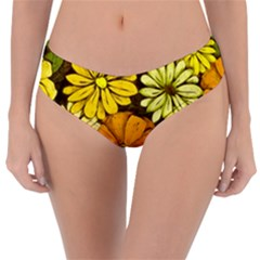 Abstract #417 Reversible Classic Bikini Bottoms by RockettGraphics