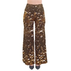 Festive Bubbles Sparkling Wine Champagne Golden Water Drops Pants by yoursparklingshop