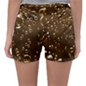 Festive Bubbles Sparkling Wine Champagne Golden Water Drops Sleepwear Shorts View2