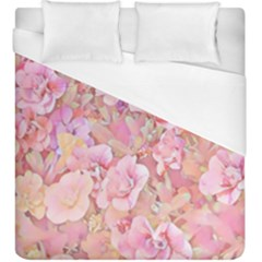 Lovely Floral 36a Duvet Cover (king Size) by MoreColorsinLife