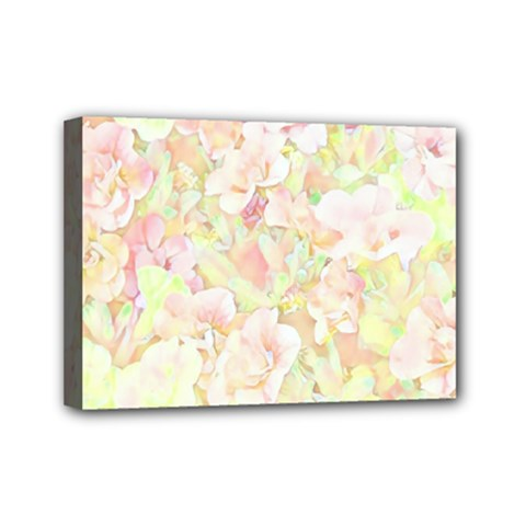 Lovely Floral 36c Mini Canvas 7  X 5  by MoreColorsinLife