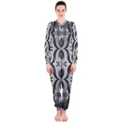Metal Circle Background Ring Onepiece Jumpsuit (ladies)
