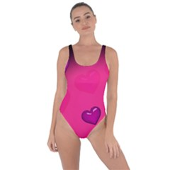 Background Heart Valentine S Day Bring Sexy Back Swimsuit