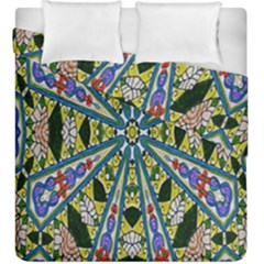 Kaleidoscope Background Duvet Cover Double Side (king Size) by BangZart