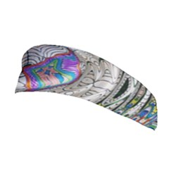 Water Ripple Design Background Wallpaper Of Water Ripples Applied To A Kaleidoscope Pattern Stretchable Headband