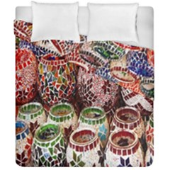 Colorful Oriental Candle Holders For Sale On Local Market Duvet Cover Double Side (california King Size) by BangZart