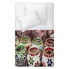 Colorful Oriental Candle Holders For Sale On Local Market Duvet Cover (single Size) by BangZart