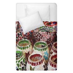 Colorful Oriental Candle Holders For Sale On Local Market Duvet Cover Double Side (single Size) by BangZart