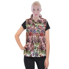 Colorful Oriental Candle Holders For Sale On Local Market Women s Button Up Puffer Vest