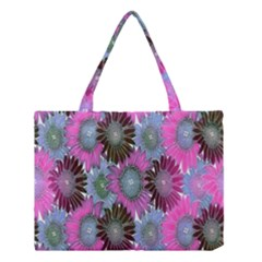 Floral Pattern Background Medium Tote Bag by BangZart