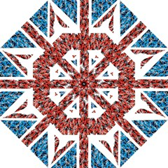 Fun And Unique Illustration Of The Uk Union Jack Flag Made Up Of Cartoon Ladybugs Straight Umbrellas by BangZart