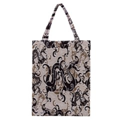 Dragon Pattern Background Classic Tote Bag by BangZart