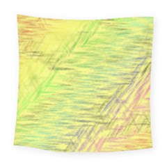 Paint On A Yellow Background                       Fleece Blanket by LalyLauraFLM