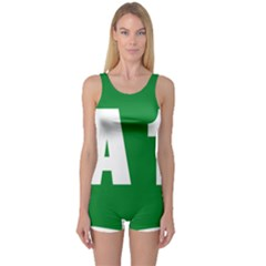 Autostrada A1 One Piece Boyleg Swimsuit by abbeyz71