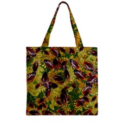 Cockroaches Grocery Tote Bag by SuperPatterns