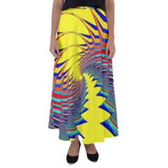 Hot Hot Summer C Flared Maxi Skirt