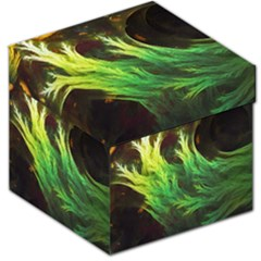 A Seaweed s Deepdream Of Faded Fractal Fall Colors Storage Stool 12   by jayaprime