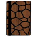 SKIN1 BLACK MARBLE & BROWN WOOD Apple iPad Pro 12.9   Flip Case View4
