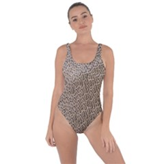 Animal Print Panthera Onca Texture Pattern Bring Sexy Back Swimsuit by paulaoliveiradesign