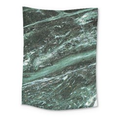 Green Marble Stone Texture Emerald  Medium Tapestry by paulaoliveiradesign