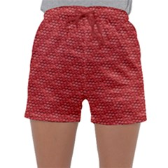 Red Scales Sleepwear Shorts