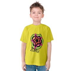 Zomg! Kids  Cotton Tee by NoctemClothing