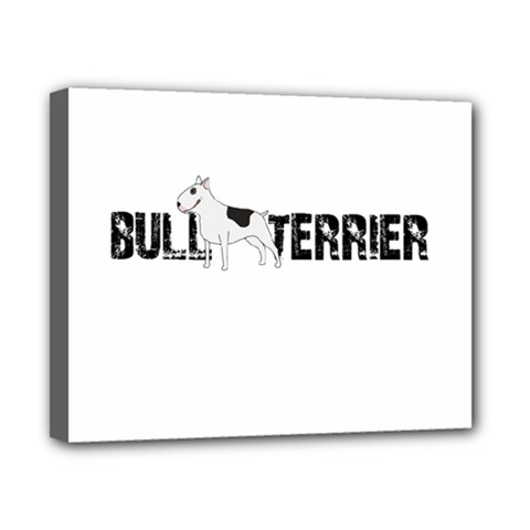 Bull Terrier  Canvas 10  X 8  by Valentinaart