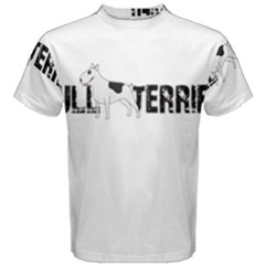 Bull Terrier  Men s Cotton Tee