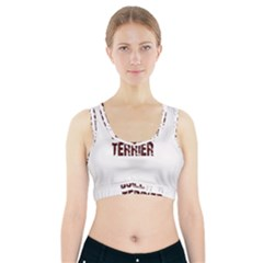 Bull Terrier  Sports Bra With Pocket