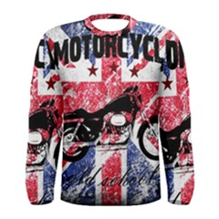 Motorcycle Old School Men s Long Sleeve Tee