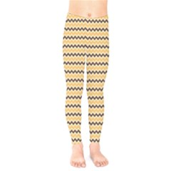 Colored Zig Zag Kids  Legging by Colorfulart23