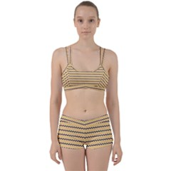 Colored Zig Zag Women s Sports Set by Colorfulart23