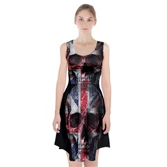 Uk Flag Skull Racerback Midi Dress