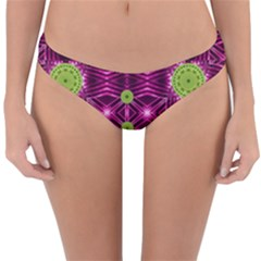 Lillie Of The Valley And Metal Reversible Hipster Bikini Bottoms by pepitasart