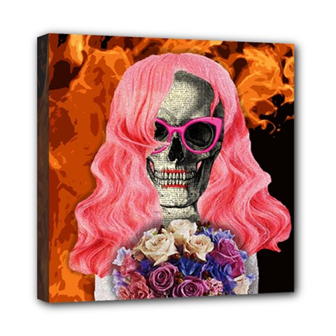 Bride From Hell Mini Canvas 8  X 8  by Valentinaart