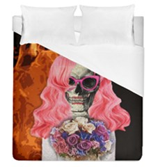 Bride From Hell Duvet Cover (queen Size) by Valentinaart