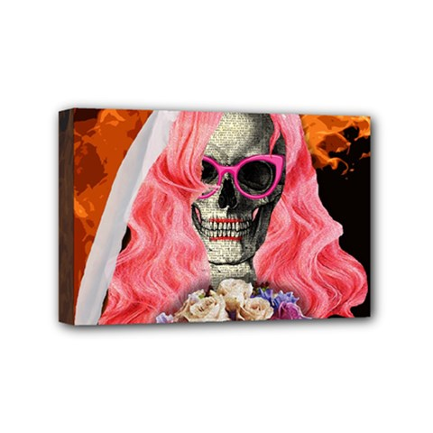 Bride From Hell Mini Canvas 6  X 4  by Valentinaart