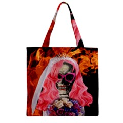Bride From Hell Zipper Grocery Tote Bag