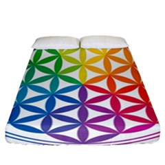 Heart Energy Medicine Fitted Sheet (california King Size) by BangZart