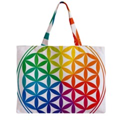 Heart Energy Medicine Medium Zipper Tote Bag by BangZart