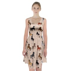 Horses For Courses Pattern Racerback Midi Dress by BangZart