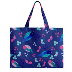 Birds And Butterflies Mini Tote Bag by BangZart