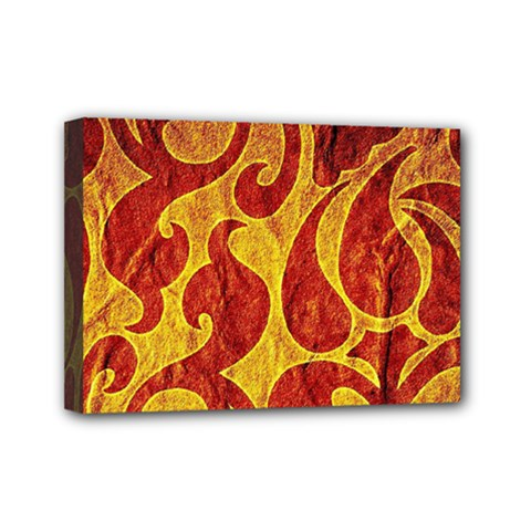 Abstract Pattern Mini Canvas 7  X 5  by BangZart