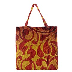 Abstract Pattern Grocery Tote Bag by BangZart